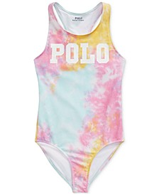 Big Girls Tie-Dye One-Piece Swimsuit