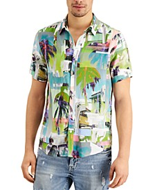 Men's La Montage Printed Shirt