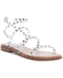Women's Travel Rock Stud Flat Sandals