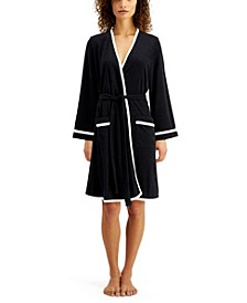 Short Terry Wrap Robe
