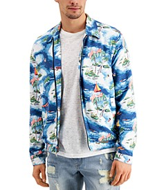 Men's Maui Scene Jacket, Created for Macy's