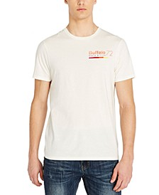 Men's Tasider Vintage Wash Printed Logo T-Shirt