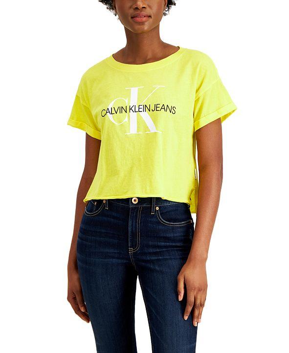 Calvin Klein Jeans Cotton Graphic T-Shirt