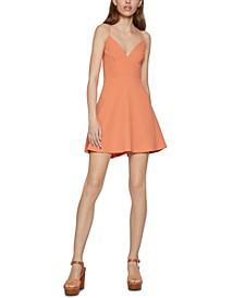 Cross-Strap Mini Dress