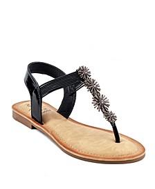 Carlie Flat Sandal