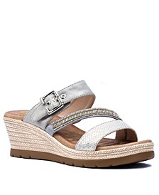 Monica Wedge Sandal