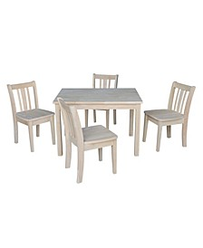 Table with 4 San Remo Juvenile Chairs