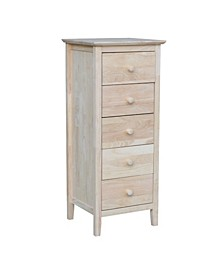 Lingerie Chest with 5 Drawers