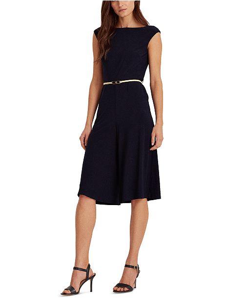 Lauren Ralph Lauren Jersey Culotte Jumpsuit