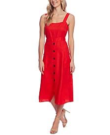 Linen A-Line Dress