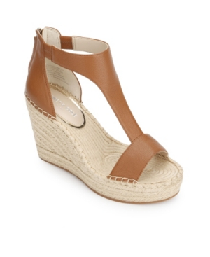 Kenneth Cole New York OLIVIA T STRAP WEDGES WOMEN'S SHOES