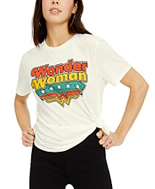 Juniors' Wonder Woman Logo Graphic T-Shirt