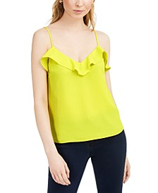 Adjustable Ruffled Camisole, Created for Macy's