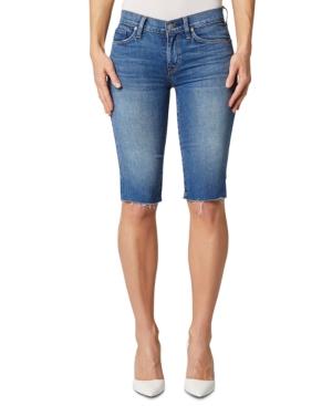 Hudson Jeans Amelia Cut-Off Knee-Length Shorts