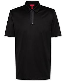 Men's Dolden Slim-Fit Zip Polo Shirt
