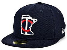 Minnesota Twins 2020 Batting Practice 59FIFTY-FITTED Cap