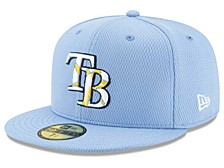 Tampa Bay Rays 2020 Men's Spring Training Fitted Cap