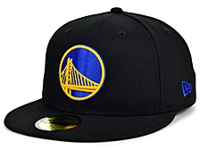 Golden State Warriors Men's All Around Fitted Cap