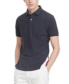 Men's Eric Custom-Fit TH Flex Stretch Logo Polo Shirt