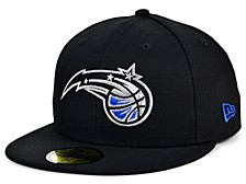 Orlando Magic Men's All Around Fitted Cap