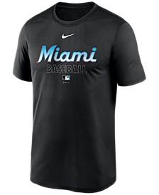 Miami Marlins Men's Authentic Collection Legend Practice T-Shirt