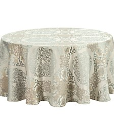 "Jonet 90"" Round Tablecloth"