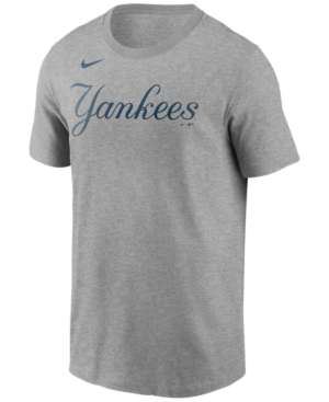 Nike New York Yankees Men's Swoosh Wordmark T-Shirt