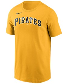 Pittsburgh Pirates  Men's Swoosh Wordmark T-Shirt