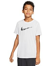 Big Boys Dri-FIT Swoosh Training T-Shirt