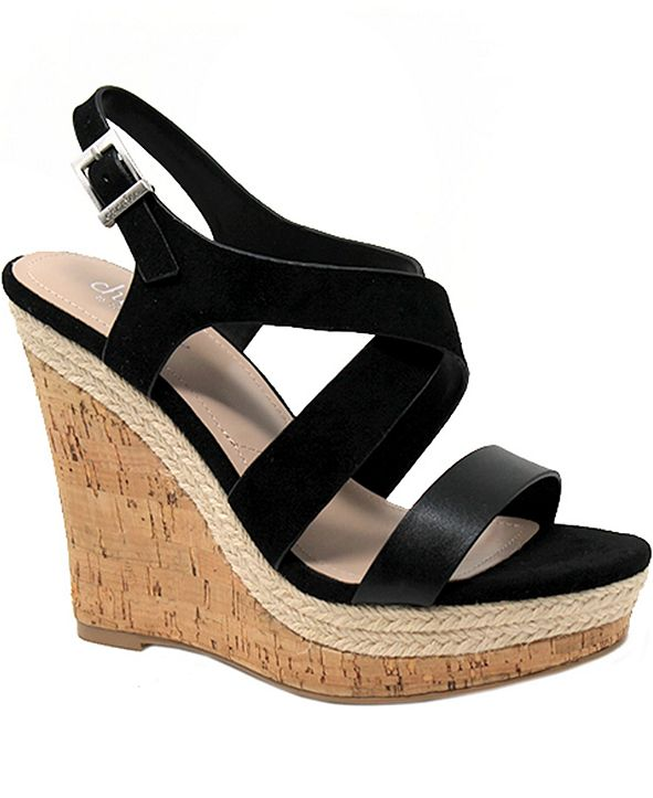 CHARLES by Charles David Aaliyah Wedge Sandals