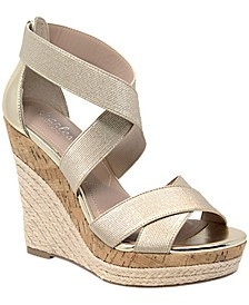 Azures Wedge Sandals