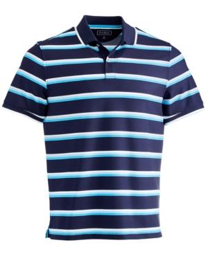 Men's Multi-Stripe Sport Polo Shirt