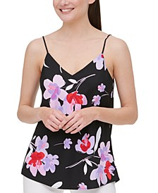 Floral-Print Camisole