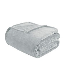 Microlight Plush Twin/Twin XL Oversized Blanket