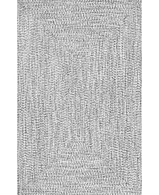 Festival Braided Lefebvre Multi 5' x 8' Area Rug