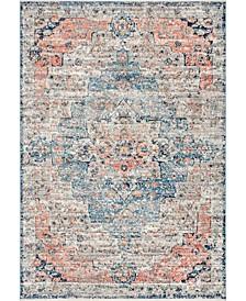Delicate Celeste Persian Vintage-Inspired Multi 8' x 10' Area Rug