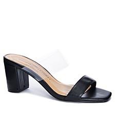 Yeah Yeah Block Heel Dress Sandals