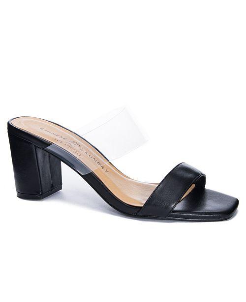 Chinese Laundry Yeah Yeah Block Heel Dress Sandals
