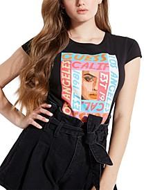 Cotton Logo Mash-Up Graphic T-Shirt