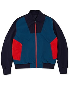 Men's Regular-Fit Reversible Bomber Jacket