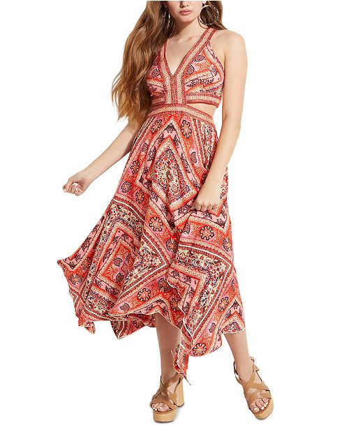 GUESS Taj Sleeveless Maxi Dress