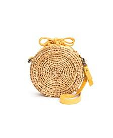 Women's Esme Straw Canteen Bag