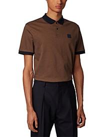 BOSS Men's Parlay 70 Dark Beige Polo Shirt