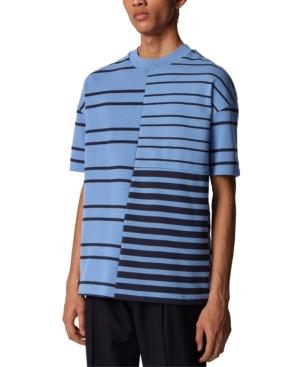 Boss Men's Tames 15 Open Blue T-Shirt