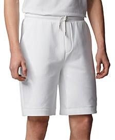 BOSS Men's Halboa Open White Shorts