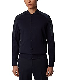 BOSS Men's Skiles 24 Dark Blue Jacket