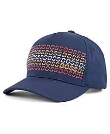 BOSS Men's Skaz Navy Cap