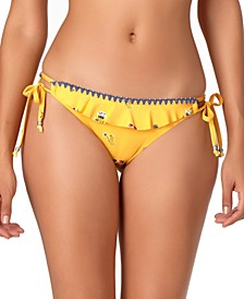 STUDIO String Tie-Side Hipster Bikini Bottoms