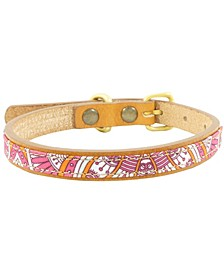 Kemba Leather Dog Collar, Medium