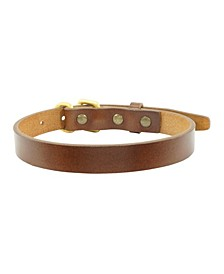 Pattinson Leather Dog Collar, Small